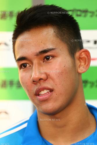 Ryuji Utomo,<br /> 2014 JPFA Tryout at Fukuda Denshi Arena in Chiba, Japan on December 3rd, 2014.<br /> (Photo by Shingo Ito/AFLO SPORT)