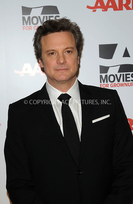 WWW.ACEPIXS.COM . . . . . ....February 7 2011, LA....Actor Colin Firth arriving at the AARP Magazine 10th Annual Movies For Grownups Awards at the Beverly Wilshire Four Seasons Hotel on February 7, 2011 in Beverly Hills, CA....Please byline: PETER WEST - ACEPIXS.COM....Ace Pictures, Inc:  ..(212) 243-8787 or (646) 679 0430..e-mail: picturedesk@acepixs.com..web: http://www.acepixs.com