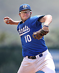 Western Nevada's Josh Mill pitches against Utah State University Eastern at WNC in Carson City, Nev., on Friday, April 29, 2016.<br />Photo by Cathleen Allison/Nevada Photo Source