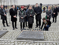 27 January 2016 - Auschwitz, Poland - 71st Anniversary of the liberation of Auschwitz concentration camp. Photo Credit: Spiegl/face to face/AdMedia