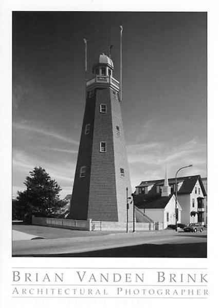 PORTLAND OBSERVATORY<br /> Portland, Maine<br /> Built 1807, Restored 2000<br /> Restoration Architects<br /> Turk Tracey &amp; Larry &copy; Brian Vanden Brink, 2002