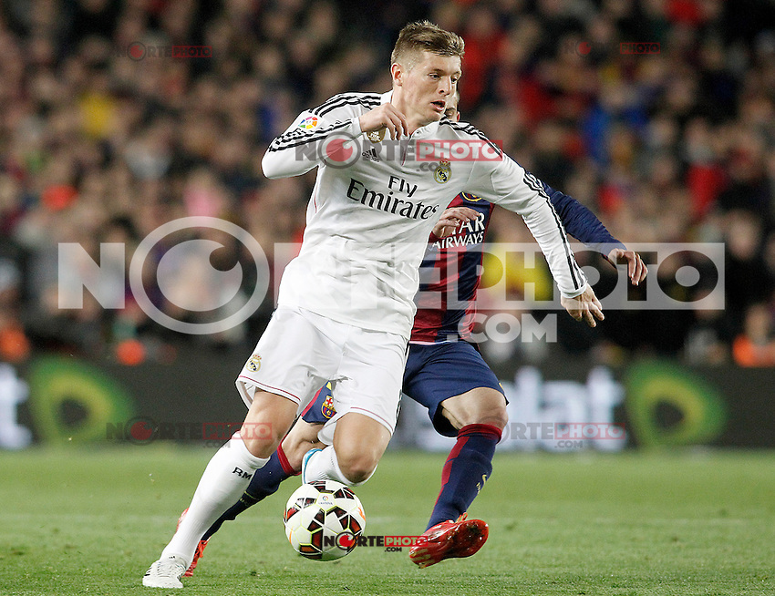 Real Madrid's Toni Kroos during La Liga match.March 22,2015. (ALTERPHOTOS/Acero) /NORTEphoto.com