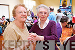 Dancing at the Active Retirement Open Day at Saint Brendan's on Wednesday were Betty Scanlon and Ita O'Donnell.