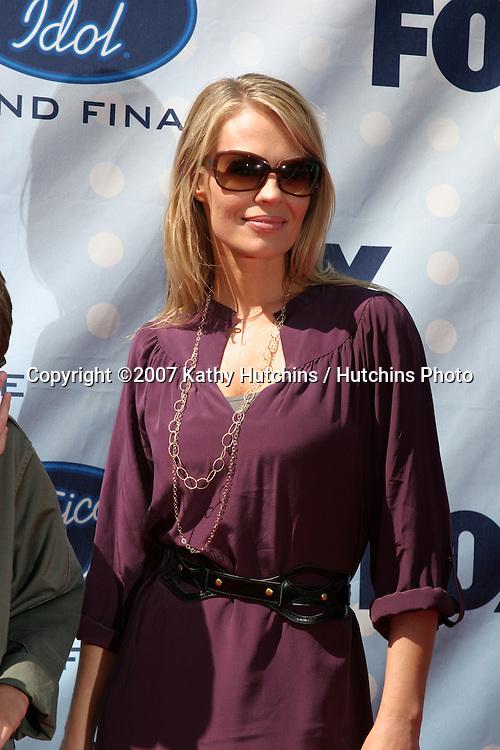 Jeri Ryan.American Idol Finale  Season 6.Kodak Theater.Los Angeles, CA.May 23, 2007.©2007 Kathy Hutchins / Hutchins Photo....