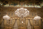 Ballroom of Royal -Real Casino of Murcia, Spain