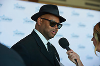 "ST. PAUL, MN JULY 16: Music producer Jimmy Jam talks to reporters on the red carpet at the Starkey Hearing Foundation ""So The World May Hear Awards Gala"" on July 16, 2017 in St. Paul, Minnesota. Credit: Tony Nelson/Mediapunch"