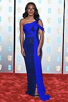 Ama Assante<br /> arriving for the BAFTA Film Awards 2019 at the Royal Albert Hall, London<br /> <br /> ©Ash Knotek  D3478  10/02/2019