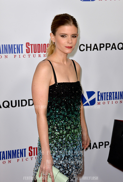 Kate Mara at the premiere for &quot;Chappaquiddick&quot; at the Samuel Goldwyn Theatre, Los Angeles, USA 28 March 2018<br /> Picture: Paul Smith/Featureflash/SilverHub 0208 004 5359 sales@silverhubmedia.com