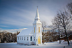 St Matthews church in Sugar Hill, NH, USA