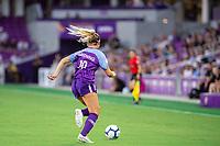 Orlando, FL - Wednesday September 11, 2019: Erin Greening , Orlando Pride vs  Chicago Red Stars at Exploria Stadium.