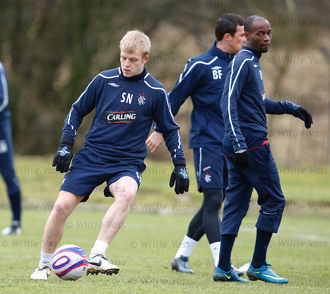 Steven Naismith and DaMarcus Beasley