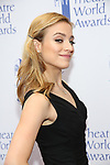 Christy Altomare attends the 73rd Annual Theatre World Awards at The Imperial Theatre on June 5, 2017 in New York City.