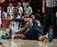 Stanford, CA; Sunday November 15, 2015; Men's Basketball, Stanford vs Charleston Southern