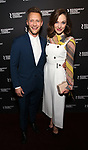 "Nathan Johnson and Laura Osnes attends the Broadway Opening Night of  ""Kiss Me, Kate""  at Studio 54 on March 14, 2019 in New York City."