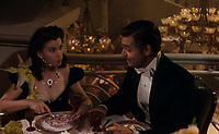 BNPS.co.uk (01202 558833)<br /> Pic: Bonhams/BNPS<br /> <br /> PICTURED: The necklace in Gone With the Wind - The stylish piece featured in the film when Leigh's character Scarlett O'Hara is on her honeymoon with Rhett Butler - played by Clark Gable.<br /> <br /> A crystal necklace that was worn by legendary actress Vivien Leigh in Gone With the Wind has emerged for sale for £23,000.<br /> <br /> The stylish piece featured in the film when Leigh's character Scarlett O'Hara is on her honeymoon with Rhett Butler - played by Clark Gable.<br /> <br /> It is seen as Scarlett gorges herself on dinners and desserts, while Rhett informs her that he will divorce her if she gets too fat.