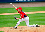 1 March 2011: Washington Nationals' pitcher Collin Balester in action during a Spring Training game against the New York Mets at Space Coast Stadium in Viera, Florida. The Nationals defeated the Mets 5-3 in Grapefruit League action. Mandatory Credit: Ed Wolfstein Photo