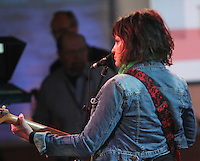 May 03, 2012: Norah Jones sound check at Good Morning America to promote her new CD Little Broken Hearts in New York City. Credit: RW/MediaPunch Inc.