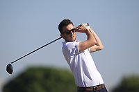 Jamie Sutherland (Galgorm Castle) on the 2nd tee during Round 2 of the East of Ireland Amateur Open Championship 2018 at Co. Louth Golf Club, Baltray, Co. Louth on Sunday 3rd June 2018.<br /> Picture:  Thos Caffrey / Golffile<br /> <br /> All photo usage must carry mandatory copyright credit (&copy; Golffile | Thos Caffrey)