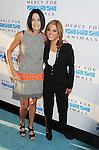 WEST HOLLYWOOD, CA- SEPTEMBER 12:  TV personality Jane Velez-Mitchel (R) and Donna Dennison attend Mercy For Animals 15th Anniversary Gala at The London on September 12, 2014 in West Hollywood, California.