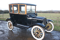 BNPS.co.uk (01202 558833)<br /> Pic: PhilYeomans/BNPS<br /> <br /> Yours for &pound;13,995 - 1917 Model T centre door.<br /> <br /> Garage that time forgot...<br /> <br /> Business is booming at Neil Tuckets time warp garage in the heart of Buckinghamshire - Where you can by any car&hellip;as long as its a Model T Ford.<br /> <br /> Despite his newest models being nearly 90 years old, Neil struggles to keep up with demand with customers snapping up one a week, despite their rudimentary levels of comfort and trim.<br /> <br /> Neil sources his spares from all over the globe and carefully puts the machines back together again.<br /> <br /> 'There like a giant meccano set really, and so beautifully simple and reliable they just won't let you down...You also don't require road tax or and MOT!'