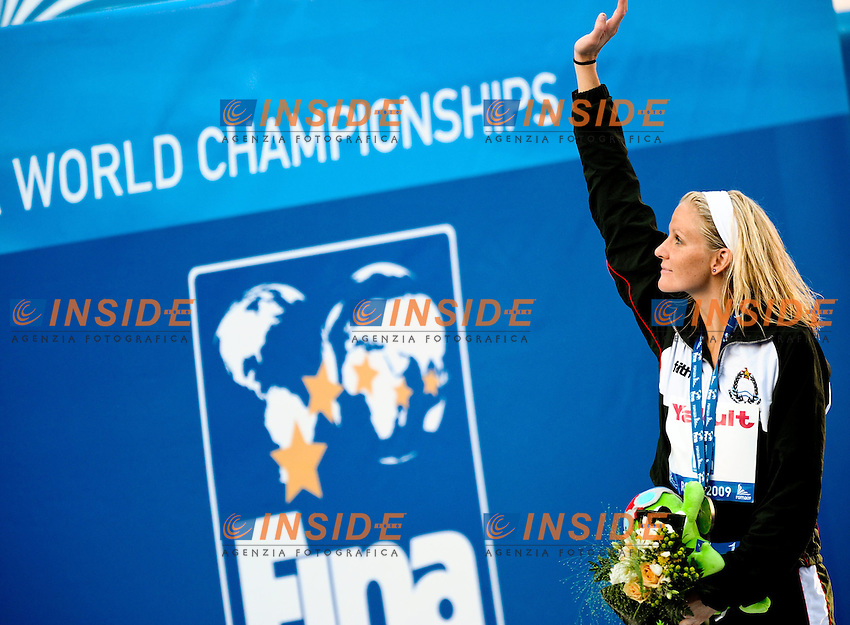Roma 1st August 2009 - 13th Fina World Championships .From 17th to 2nd August 2009.Women's 200m Butterfly.Kirsty COVENTRY (ZIM) Gold Medal.Roma2009.com/InsideFoto/SeaSee.com . .Foto Andrea Staccioli Insidefoto