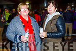 Marion Enright and Ann O'Sullivan from Ballyduff at the Lighting of the Light to Remember Tree  Service in UHK on Saturday evening.