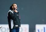 V&auml;ster&aring;s 2015-09-05 Bandy Elitserien Tillberga  - Katrineholm V&auml;rmbol BS :  <br /> TB V&auml;ster&aring;s tr&auml;nare Oscar Oskar Robertsson under matchen mellan Tillberga  och Katrineholm V&auml;rmbol BS <br /> (Foto: Kenta J&ouml;nsson) Nyckelord:  Bandy Tr&auml;ningsmatch ABB Arena Syd Tillberga TB V&auml;ster&aring;s Katrineholm V&auml;rmbol BS KVBS portr&auml;tt portrait