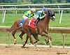 Pavlick winning at Delaware Park on 9/21/15