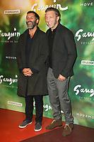 """EDOUARD DELUC, VINCENT CASSEL - AVANT-PREMIERE DU FILM """"GAUGUIN, VOYAGE DE TAHITI"""" AU CINEMA GAUMONT CAPUCINE A PARIS, FRANCE, LE 18/09/2017."""
