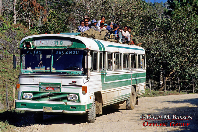 Bus With People On Top