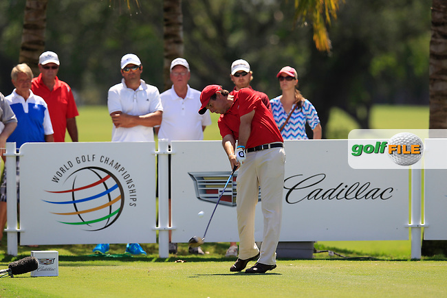 Thomas Aiken (RSA) during the 2nd round at the WGC Cadillac Championship, Blue Monster, Trump National Doral, Doral, Florida, USA<br /> Picture: Fran Caffrey / Golffile