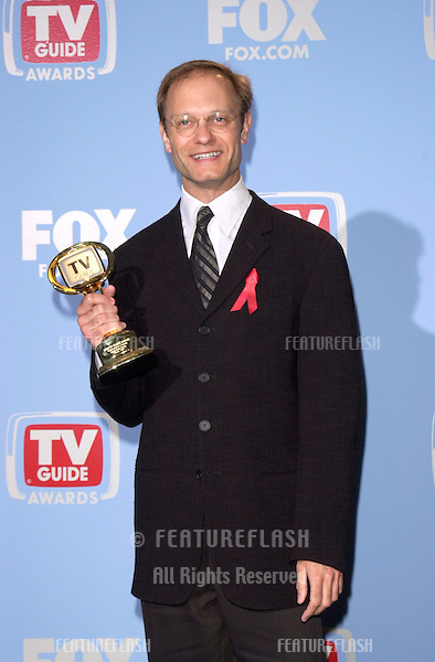 "05MAR2000:  ""Frasier"" star DAVID HYDE PIERCE at the 2nd Annual TV Guide Awards, in Los Angeles, where he won Favorite Actor in a Comedy.     .© Paul Smith / Featureflash"