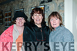 "Play On: Attending the E J Morean Drama Group's production of Rick Abbott's drama ""Play On "" at St. John's Arts Centre, Listowel on Saturday night last were Eileen Foran, Liselton,  Margo Donnelly & Helena Golden Kells Bay."