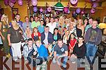 CELEBRATIONS: Sandra Breen, Chutehall, Ballymacelligott, Tralee who celebrated her 40th Birthday in Glenduff House, Kielduff, Tralee on Saturday night. (Sandra standing 7th from right)...