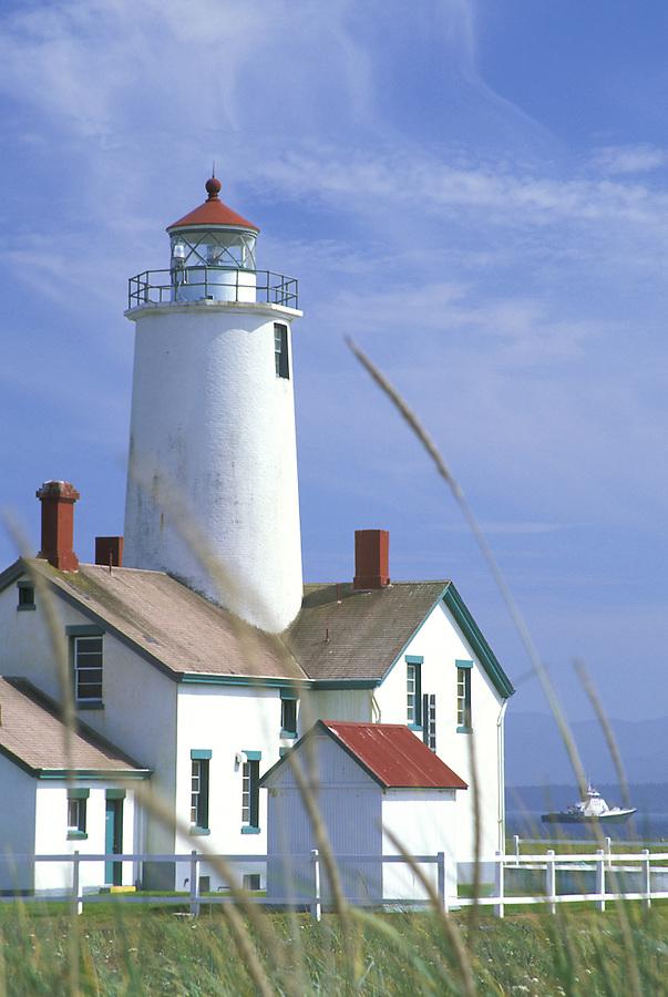 New Dungeness Lighthouse, Dungeness Spit, Dungeness National Wildlife Refuge, Sequim, Washington