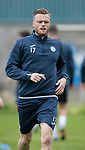 St Johnstone training&hellip;25.08.17<br />New signing Denny Johnstone pictured training at McDiarmid Park this morning ahead of tomorrows game at Celtic.<br />Picture by Graeme Hart.<br />Copyright Perthshire Picture Agency<br />Tel: 01738 623350  Mobile: 07990 594431
