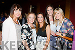 Moira Hughes, elen McGillicuddy, Ailís McGillicuddy, Charlene Brosnan  at the Castleisland Strictly Come Dancing in the River Island Hotel on Friday night