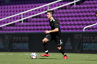 Orlando, Florida - Monday January 15, 2018: Danny Musovski. Match Day 2 of the 2018 adidas MLS Player Combine was held Orlando City Stadium.