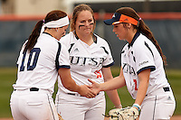SAN ANTONIO, TX - FEBRUARY 21, 2016: The University of Texas at San Antonio Roadrunners fall to the University of Tulsa Golden Hurricane 10-1 at UTSA Roadrunner Field. (Photo by Jeff Huehn)