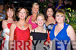 ..FUN: Having a good fun at the Rose of Tralee Pre Ball reception in the Fels Point Hotel, Tralee on Frifday night. Front l-r: Maura Walsh, Eileen Medy, Sandra Kearney and Denise Cahill. Back l-r: Ann Marie Votta and Siobha?n Ashe.. ....