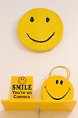 London, England. 14 October 2014. Smileys at Salon 94, New York. Frieze Art Fair 2014 opens in Regent's Park, London. Photo: Bettina Strenske