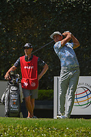 Rickie Fowler (USA) watches his tee shot on 2 during round 3 of the World Golf Championships, Mexico, Club De Golf Chapultepec, Mexico City, Mexico. 3/3/2018.<br /> Picture: Golffile | Ken Murray<br /> <br /> <br /> All photo usage must carry mandatory copyright credit (&copy; Golffile | Ken Murray)