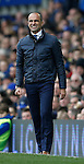 Roberto Martinez manager of Everton during the Barclays Premier League match at The Goodison Park Stadium. Photo credit should read: Simon Bellis/Sportimage