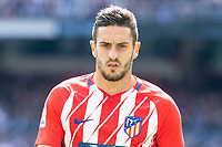 Atletico de Madrid Koke Resurreccion during La Liga match between Real Madrid and Atletico de Madrid at Santiago Bernabeu Stadium in Madrid, Spain. April 08, 2018. (ALTERPHOTOS/Borja B.Hojas) /NortePhoto NORTEPHOTOMEXICO