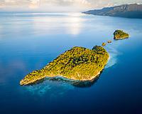 Wofoh Island, Pulau Wofoh, Raja Ampat Islands, West Papua, Indonesia, Indo-Pacific Ocean