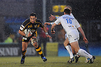 Wycombe, GREAT BRITAIN, left, Wasps' Riki FLUTEY, during the Guinness Premiership game, London Wasps vs Sale Sharks 15.04.2008 [Mandatory Credit Peter Spurrier/Intersport Images]