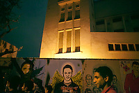 EGYPT / Cairo / 24.11.2012 / Young protesters gather in Mohamed Mahmoud Street © Giulia Marchi