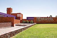 The Museo del Laberinto designed by Ricardo Legoretta, Parque Tangamanga, San Luis de Potosi, Mexico