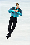 Peter Liebers of Germany compete in the Short Program Men during the 2014 Sochi Olympic Winter Games at Iceberg Skating Palace on February 6, 2014 in Sochi, Russia. Photo by Victor Fraile / Power Sport Images