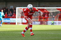 Tom Dallison of Crawley Town during Crawley Town vs Grimsby Town, Sky Bet EFL League 2 Football at Broadfield Stadium on 9th March 2019